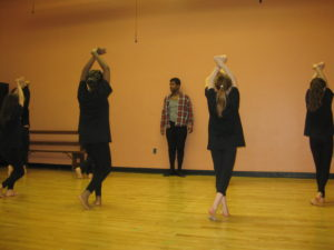 """Abdur-Rahim Jackson and EDG rehearse """"Tryin' Times"""""""