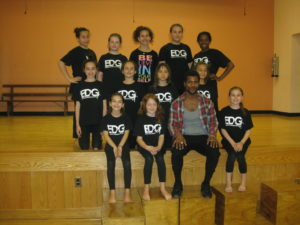 The Experimental Dance Group with guest Artist Abdur-Rahim Jackson