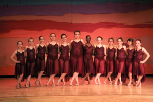 The lovely young ladies of The Experimental Dance Group